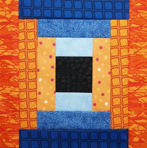Courthouse Steps Quilt Block Quilts Pinterest