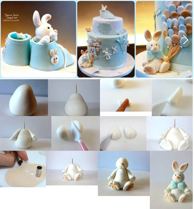Easter bunny cake. This is created by https://www.facebook.com/SweetJanis.page.