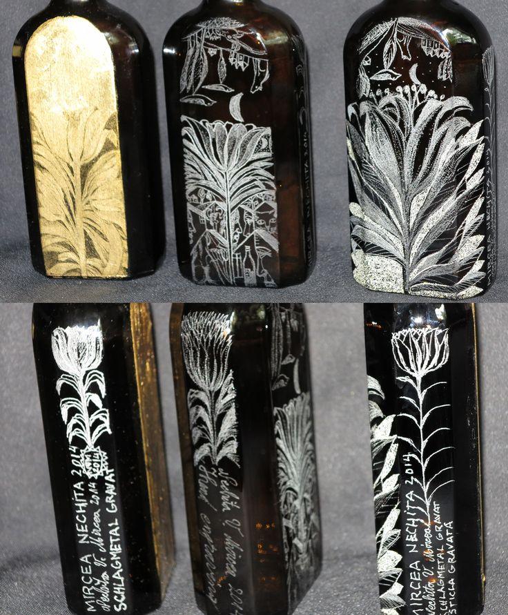sticla gravata.schlagmetal gravat.