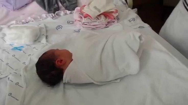 Banho bebê recém-nascido passo a passo!