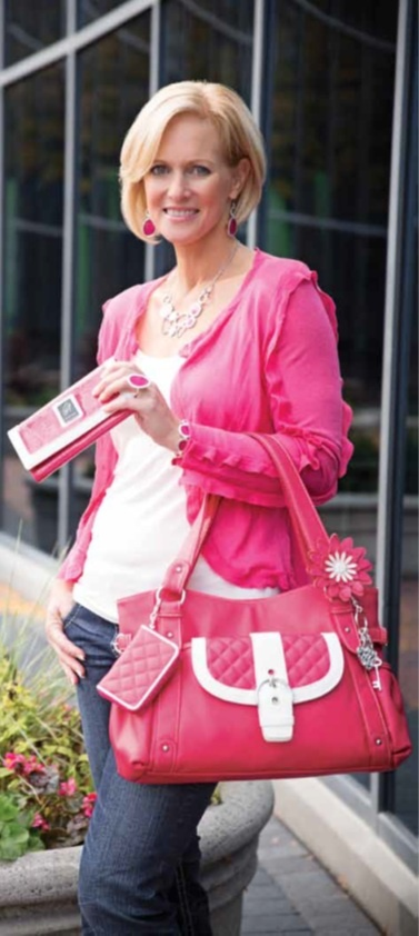 Pink! Pink! Pink! Grace Adele Hand bag and accessories! Express your own fashion sense with Grace Adele