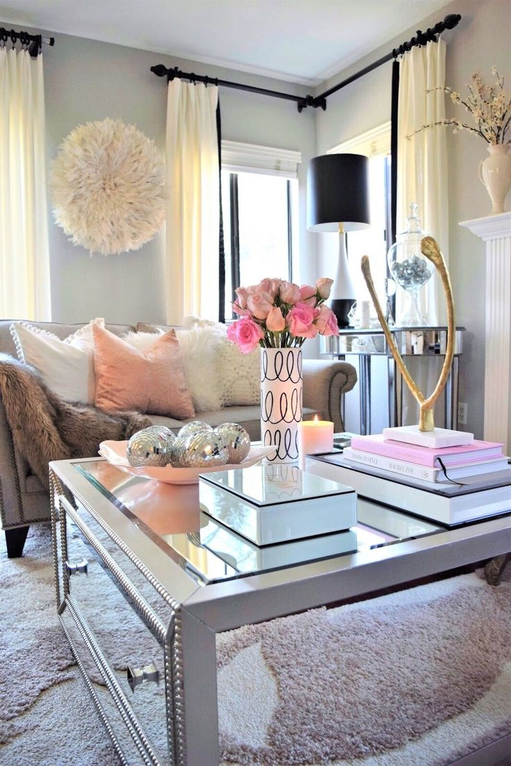 best 25 feminine living rooms ideas only on pinterest chic the secret to coffee table decorating