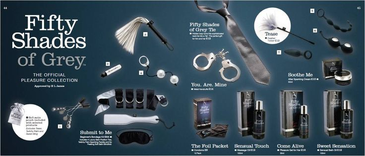 Fifty Shades of Grey Pleasure Collection | BlueBella love