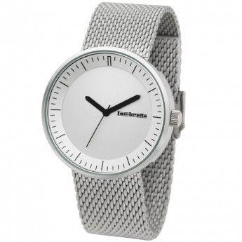 Reloj Lambretta Franco Mesh Plateado. http://www.relojeslambretta.es/products/reloj-lambretta-franco-mesh-plateado?variant=1084650473