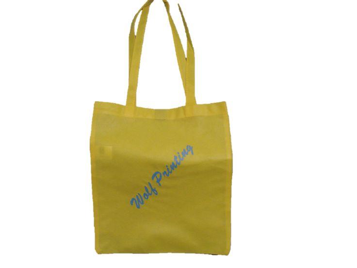 Your logo on a shopping bag