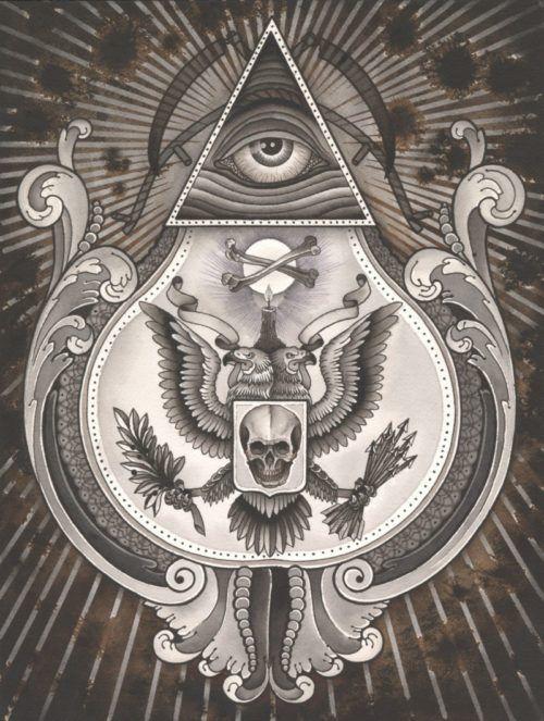 Illuminati Imágenes Simbolos, Significado e Historia