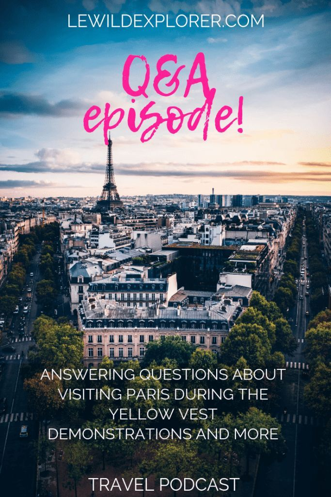 S2 E10 Q A S From Paris To The Usa Visit Paris Travel Questions Travel Fun