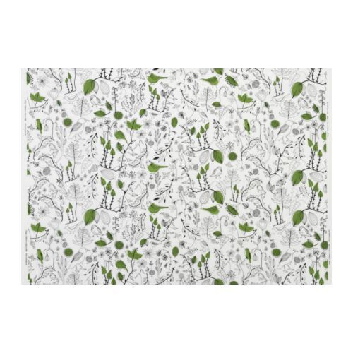 fabric for curtain: Kitchens Window, Kitchens Curtains, Living Rooms, Fabrics Ikea, Curtains Fabrics, Green Birds, Birds Fabrics, Cecilia Fabrics, Ikea Fabrics