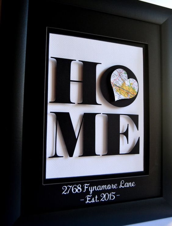 Looking for a unique housewarming gift or a way to commemorate your own new home? My personalized 3D art is a wonderful way to honor a special