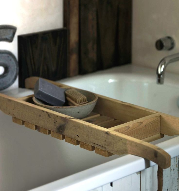 100% recycled bath rack - bath & body