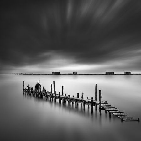 Pier and Huts (George Digalakis)