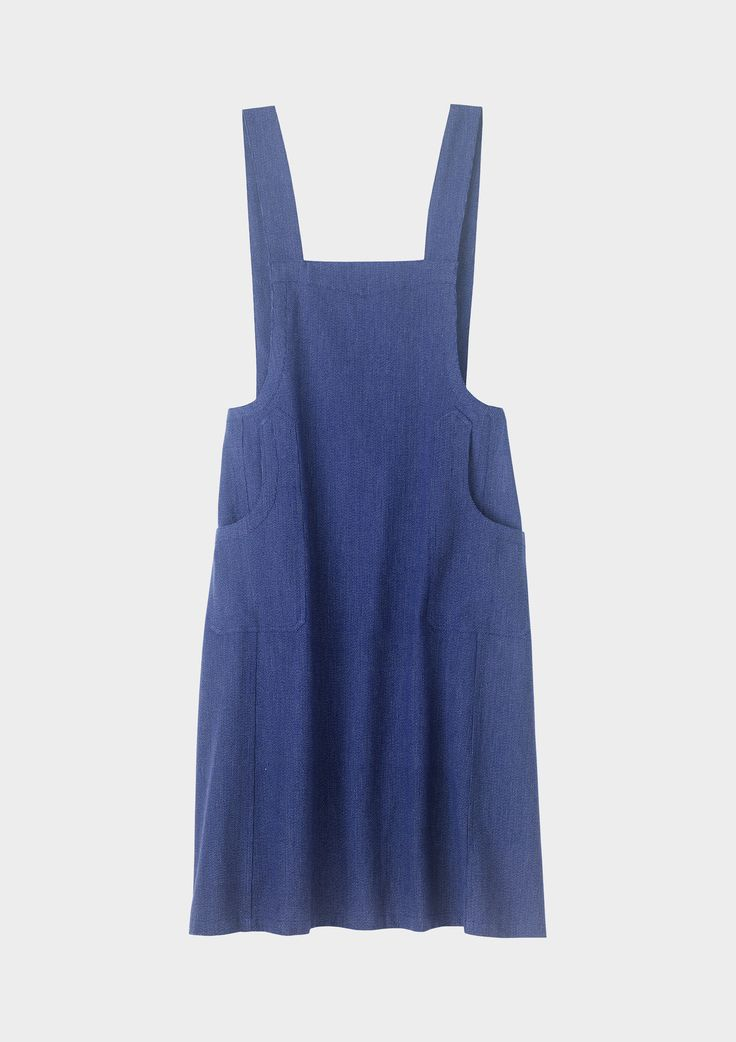 Just Luv'd on @Luvocracy | blue | pinafore | women's apparel | dress