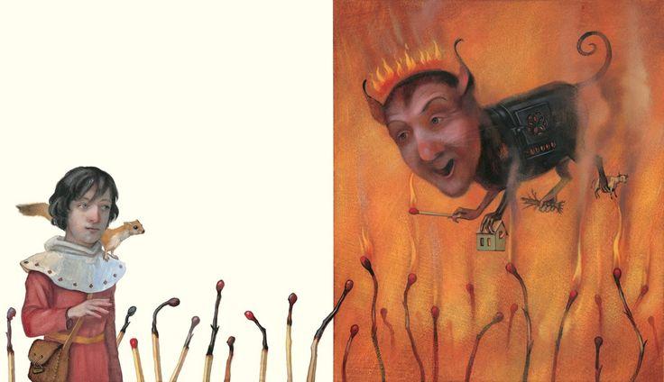 """Henriette Sauvant illustration from """"Die Rose Von Jericho""""."""