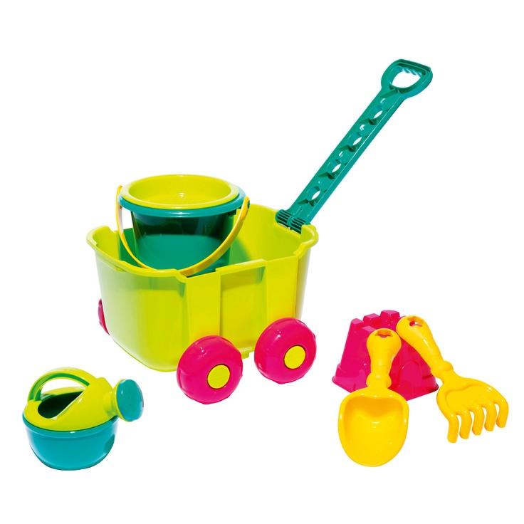 Chariot de plage des petits pour enfant de 1 an et demi à 5 ans - Oxybul éveil et jeux