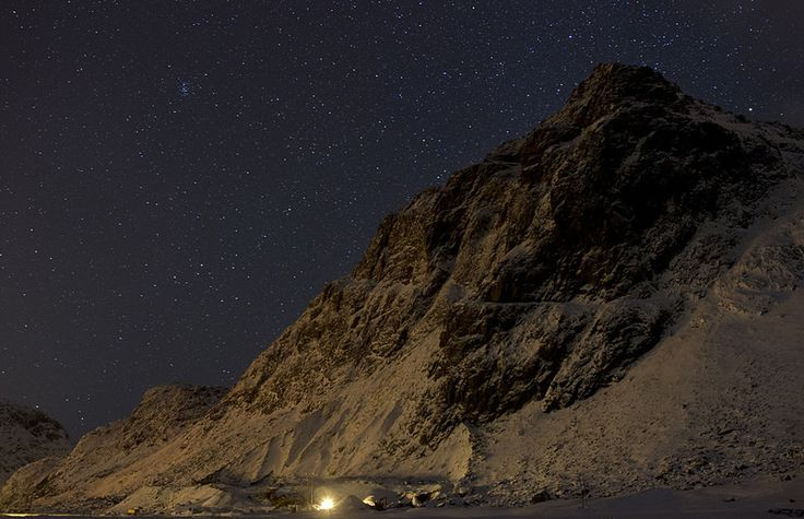 Norway at night. Getty Images.