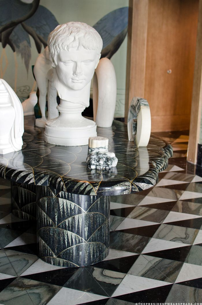 Marble tile by Kelly wearstler 10 best