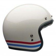 Campana personalizzato Helmet 500 - Strisce Bianco Perla