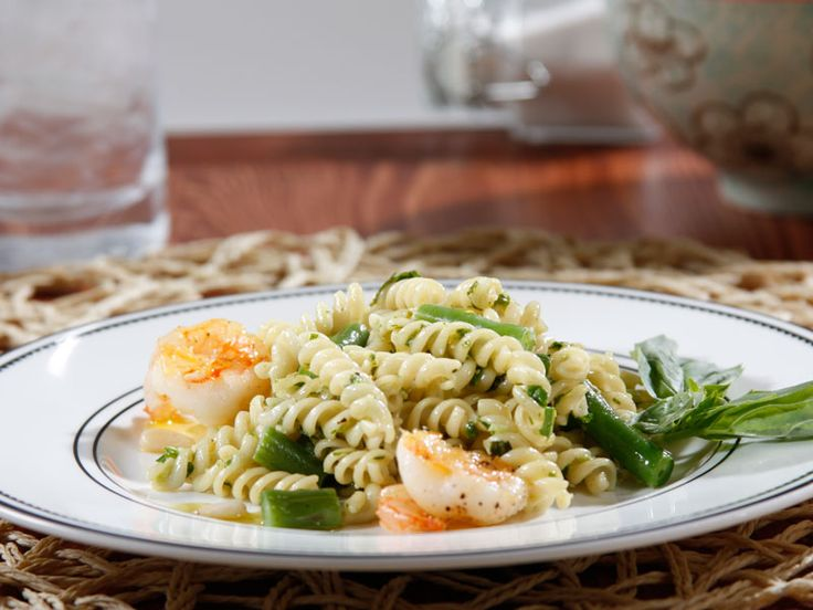 Pesto, Shrimp and Green Beans is as good as it looks. Get the recipe ...