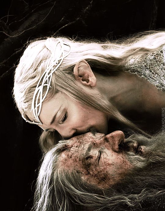 galadriel and gandalf relationship