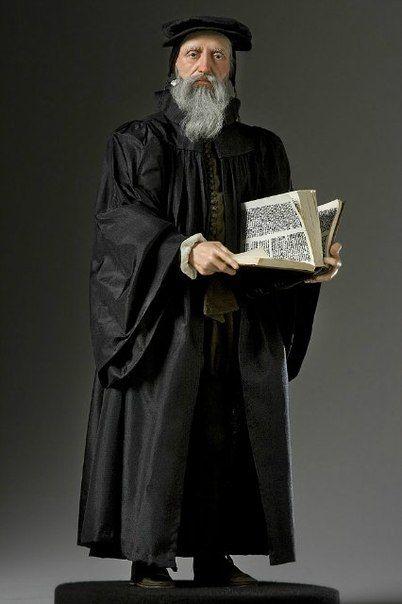 Жан Кальвин 1509-1564, французский богослов, реформатор церкви, основатель кальвинизма — направление протестантизма.