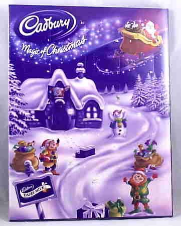 I remember these as a kid I loved it. I will definitely buy them for my kids this yr. Christmas count down chocolate calendar :)
