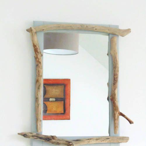les 25 meilleures id es de la cat gorie miroir en bois. Black Bedroom Furniture Sets. Home Design Ideas