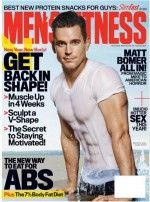 マット・ボマーが惚れ惚れするボディを男性フィットネス誌で披露
