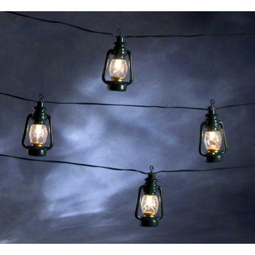 #kerstverlichting buiten - Konstsmide Lichtsnoer Stormlantaarns
