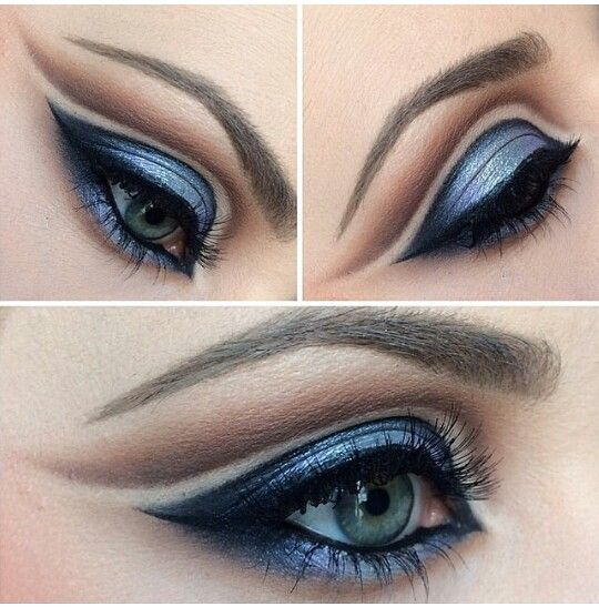 Kiss Face Makeup: 238 Best Images About Blue Make Up On Pinterest