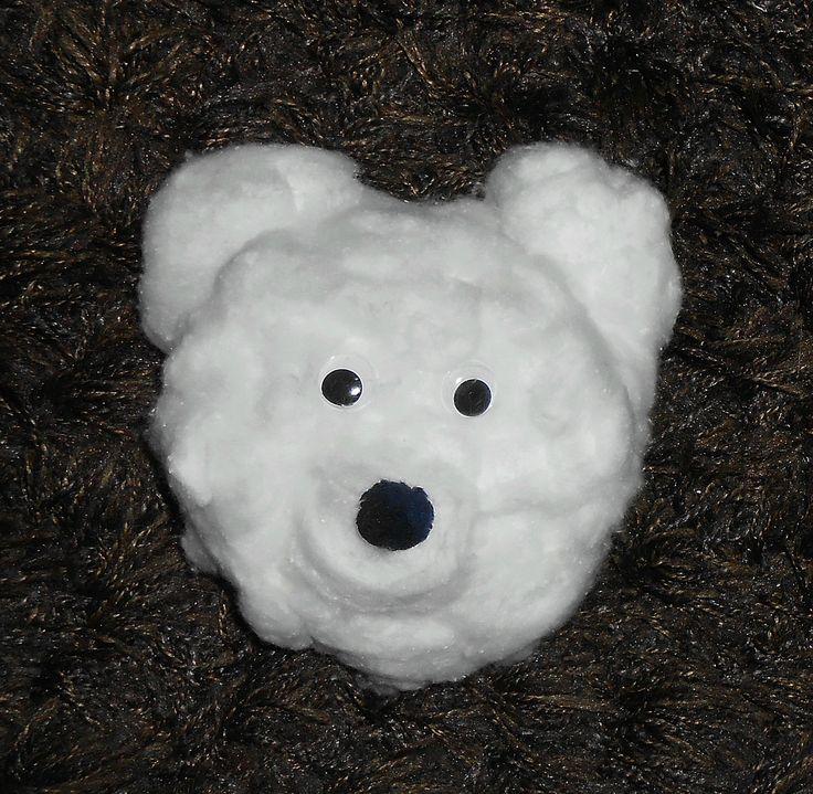 Ours blanc assiette bricolage activite manuelle enfants facile brico hiver pinterest - Activite manuelle facile 3 6 ans ...