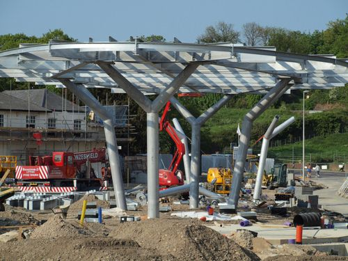 The New bus station Chatham town centre