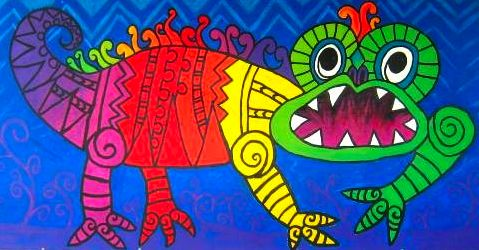 maori designs for kids | Indesign Arts and Crafts
