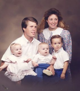 Jim Bob, Michelle, Joshua, Jana, and John-David