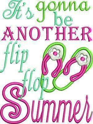 Flip flop summer quote via Carol's Country Sunshine on Facebook