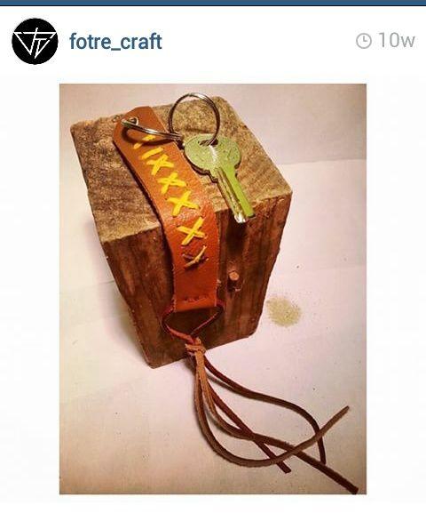 Holder Key Leather