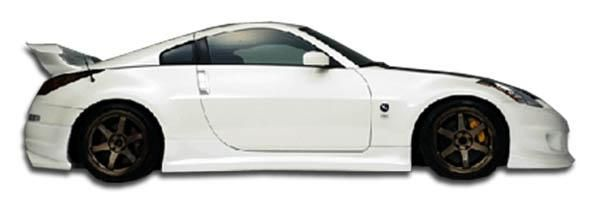 2003-2008 Nissan 350Z Duraflex Spirit Side Skirts Rocker Panels - 2 Piece