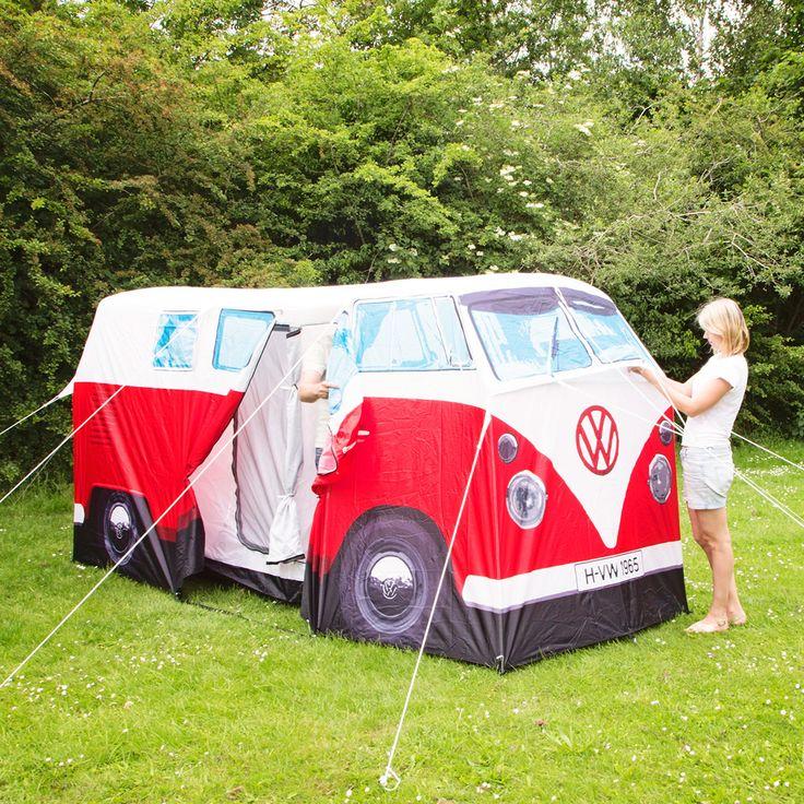 VW-Bus Zelt rot online kaufen ➜ Bestellen Sie VW-Bus Zelt rot für nur 299,00€ im design3000.de Online Shop - versandkostenfreie Lieferung ab €!