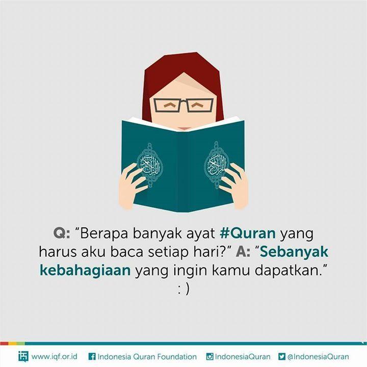 Satu huruf Al-Qur'an satu kebaikan, dan satu kebaikan 10 pahala. Bagi yang kesulitan melafalkan, satu hurufnya dua kebaikan. Berarti setiap hurufnya 20 pahala. Semakin sulit semakin banyak. Kalikan dengan jumlah pengulangan Anda.