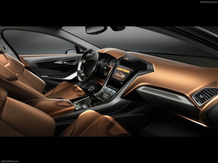 Ford Mondeo   Interior Sketch