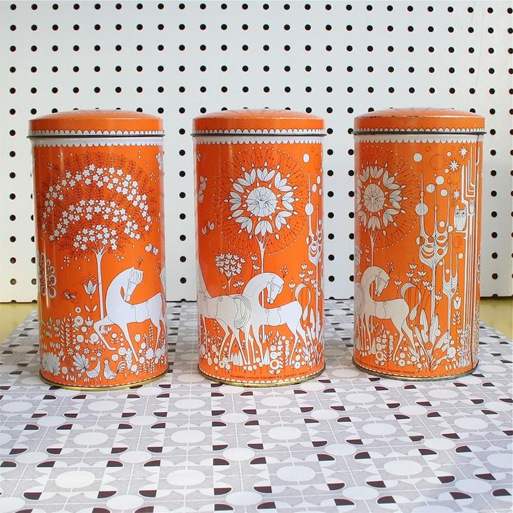 More vintage Dutch tins