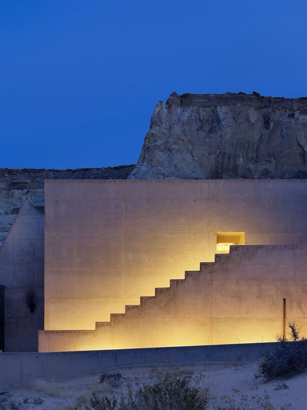 Amamgiri Spa Southern Utah by Marwan Al-Sayed, Wendell Burnette and Rick Joy Soured: http://archinect.com/masastudio/project/amangiri-resort-spa