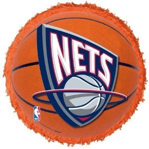 New Jersey Nets Basketball - Pinata by YA OTTA PINATA. $22.55. Manufactured to the Highest Quality Available.. Design is stylish and innovative. Satisfaction Ensured.. Great Gift Idea.. Includes 8 tiara hats