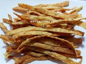 May's Kitchen: KERIPIK BAWANG KEJU