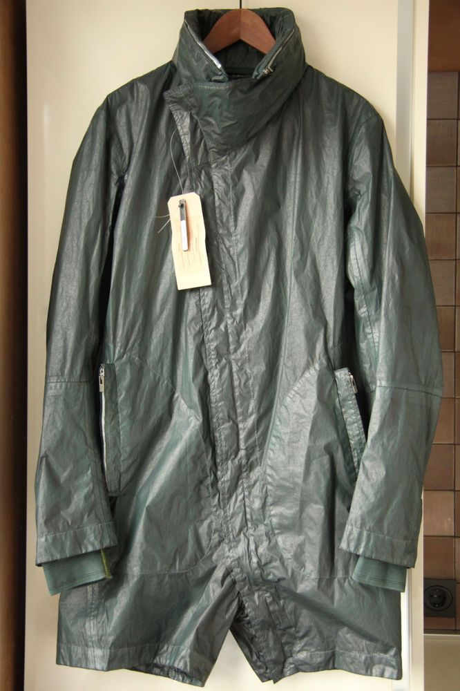 CAROL CHRISTIAN POELL RAINCOAT PARKA SIZE 48 CARPE DIEM in Clothing, Shoes & Accessories, Men's Clothing, Coats & Jackets | eBay