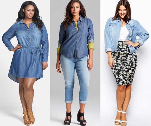 Elegant collection of plus size spring - summer outfits 2016