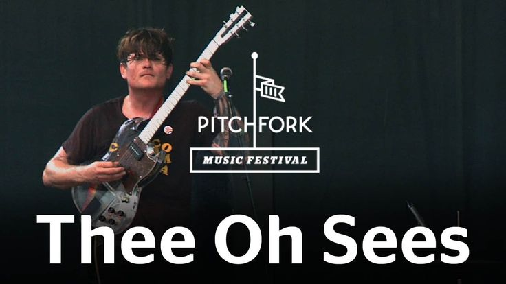 """Thee Oh Sees performs """"Contraption/Soul Desert"""" at Pitchfork Music Festi..."""