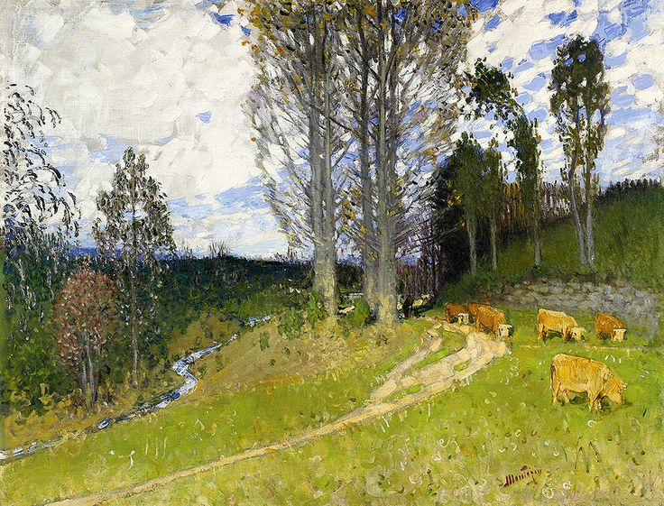 """montezin pierre eugene pastures slop sotheby (from <a href=""""http://www.oldpainters.org/picture.php?/31125/category/13305""""></a>)"""