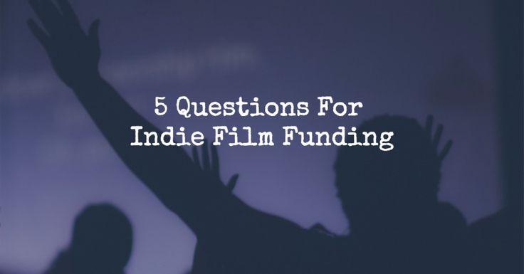 Indie Film Funding