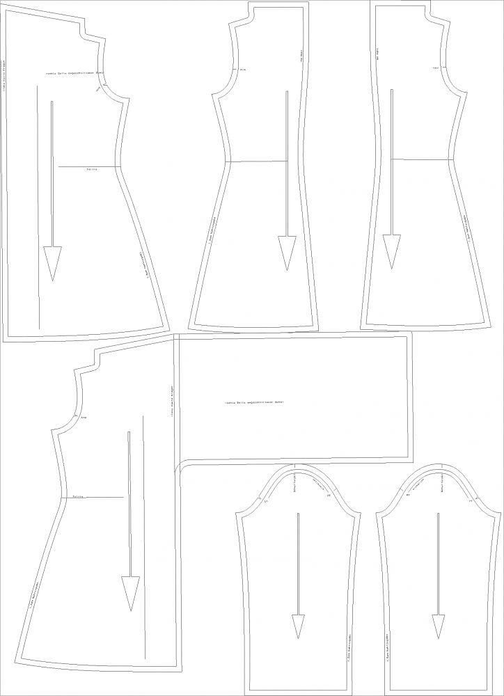 Fine Ruana Schnittmuster Image - Decke Stricken Muster ...