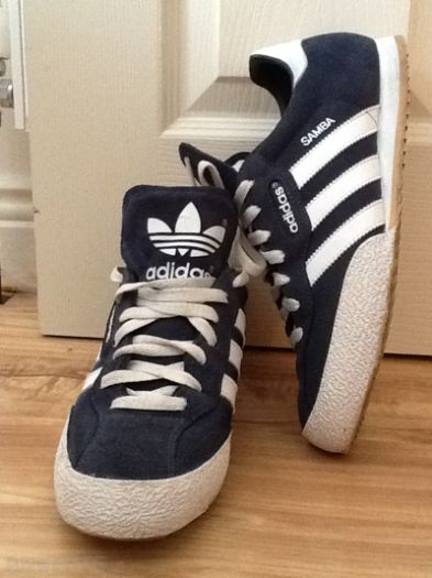 Adidas Samba Suede Shoes